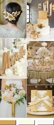 Words To White Wedding 2017 The Best Gold Wedding Colors Combos Trends Stylish