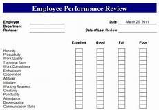 Free Printable Employee Evaluation Template Employee Performance Review Form Employee Performance