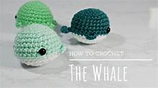 how to crochet easy beginners amigurumi whale tutorial