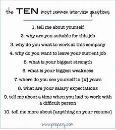 Interest Interview Questions This Post Covers How To Answer The 10 Most Common