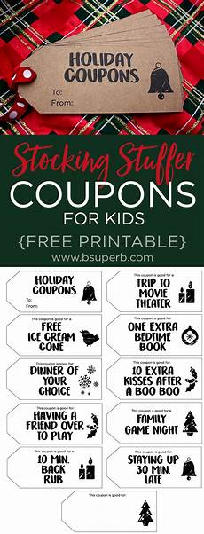 Free Easy Printable Coupons Holiday Coupons For Kids Free Printable B Superb