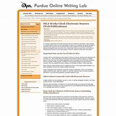 Purdue Owl Mla Are Na Purdue Owl Mla Formatting And Style Guide