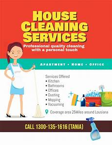 Job For Cleaning Houses Copy Of House Cleaning Services Flyer Poster Postermywall