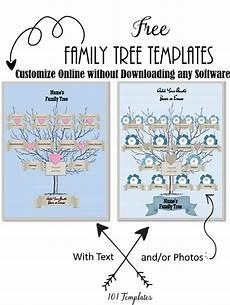 Family Template Free Editable Family Tree Maker Templates Customize