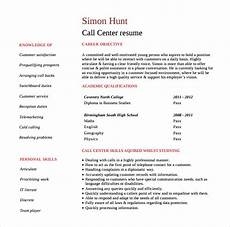 Resume Templates For Customer Service Representatives Free 9 Sample Customer Service Representative Resume