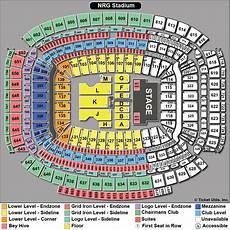 Stambaugh Stadium Concert Seating Chart Nrg Stadium Tickets Football Rodeo Seating Chart