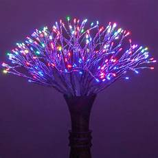 Twinklers Lights Silver Starburst Led Lighted Branches Multicolor Twinkle