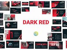 Red Powerpoint Dark Red Free Powerpoint Template By Giant Template On