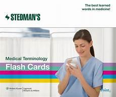 Stedman S Medical Terminology Flash Cards Anatomy Study