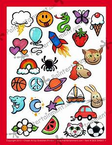 Face Painting Chart Pin By Vintage Crush On Painting Faces Face Painting