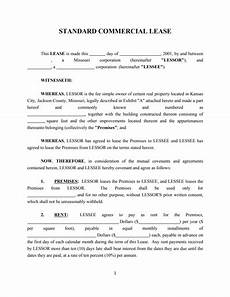 Business Lease Proposal Template Commercial Lease Agreement Template Free Download Create