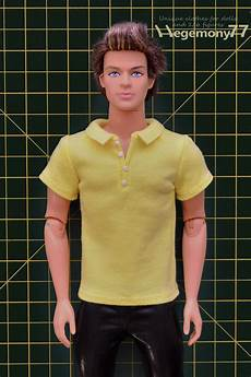ken doll clothes ken doll in custom made 1 6 scale polo shirt with 4