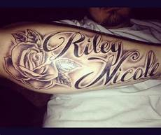 Designs For Men Arms Name Forearm With My Sons Name Tho Boyfriend Name Tattoos