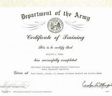 Officer Promotion Certificate Template Officer Promotion Certificate Template Army Best