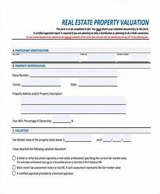 Property Listing Form Template Free 8 Sample Property Evaluation Forms In Pdf Ms Word