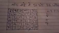 Satta Chart Gali 2018 30 और 36 ज ड बन न क आस न तर क Satta King Desawar