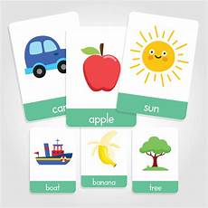 Flash Cards Words First Words Flashcards My Little Learner