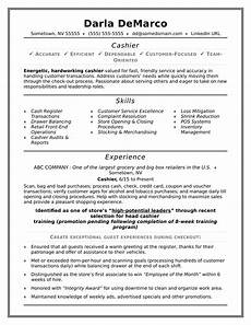 Cashier Resume Sample Cashier Resume Sample Monster Com