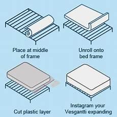 vesgantti 4ft small mattress 10 2 inch pocket