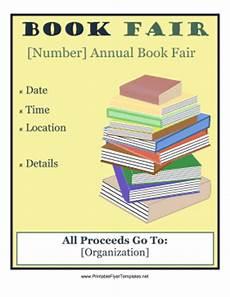 Book Flyers Examples Book Fair Flyer