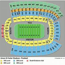 G Dragon Seating Chart Tcu Horned Frogs Football Tickets 2018 Games Ticketcity