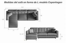 Sofa En Forma De L 3d Image by L Shaped Sofa Bed With Padded Upholstery Copenhagen