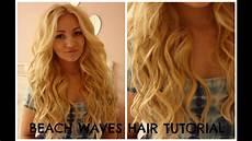 hair beach waves hair tutorial curling wand