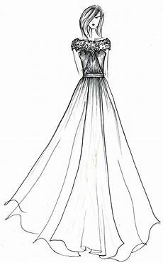 simple fashion design sketches of dresses shopping guide