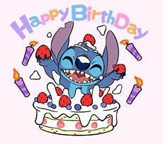 happy bday stitch stitch stitch disney lilo and