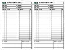 Baseball Lineup Card Pdf Declarative Printable Baseball Lineup Cards Wanda Website