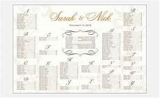 Downloadable Seating Chart Wedding Seating Chart Template Free Amp Premium Templates