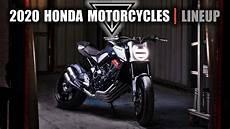honda lineup 2020 2020 honda motorcycles lineup