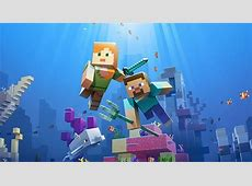 Minecraft?s second aquatic update is filled with