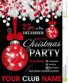 Black And White Christmas Invitations Christmas Party Invitation Template Black Background With