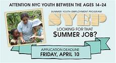 Summer Employment Summer Youth Employment Program