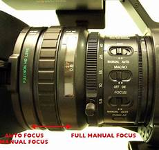 Part 1 Focus Sony Pmw Ex1 Course Workbook And Training