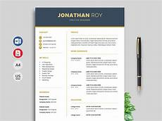 Free Resume Templates Word Download Free Resume Amp Cv Templates In Word Format 2020 Resumekraft