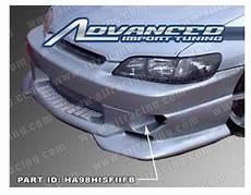 Racing Style Body Front Bumper Honda Accord Auto Racing