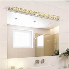 Bathroom Over Mirror Led Lights Modern Led Crystal Bathroom Mirror Sconces Light 23w Over
