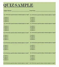 quiz format template 5 best free business quiz templates free amp premium templates