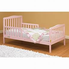 the orbelle contemporary solid wood toddler bed pink in