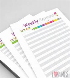 Weekly Expenses 13 Weekly Budget Templates Free Sample Example Format