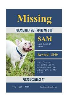 Lost Dog Poster Maker Wanted Poster Templates Postermywall