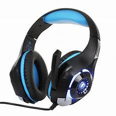 Gaming Headphones With Lights Aliexpress Com Buy New Gaming Headphones 3 5mm Wired Led
