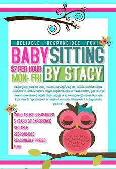 Babysitter Available Ads Free 20 Beautiful Babysitting Flyer Templates In Ms Word