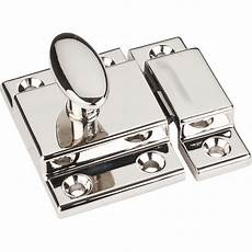 hardware resources cabinet latch 1 3 4 quot polished nickel