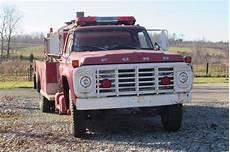 Lights Sirens Tacoma Surface Rust 1978 Ford F704f Fire Engine Truck Trucks