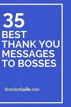 Thank You Notes To Boss For Gift 37 Best Thank You Messages To Bosses Best Thank You