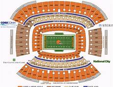 Cleveland Browns Stadium Seating Chart Nfl Football Stadiums Cleveland Browns Cleveland
