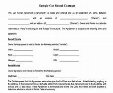 Auto Lease Agreement Free 9 Sample Basic Lease Agreement Templates In Pdf